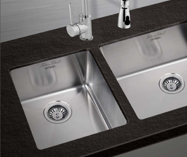 Mitrani Kitchen Sinks - Stainless Steel - AXIS 1110 Undermount/Flushmount