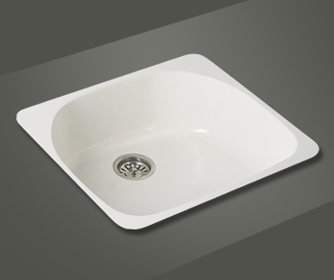 Mitrani Kitchen Sinks - Titan Quartz - BS 574T Topmount/Undermount - 2 colors