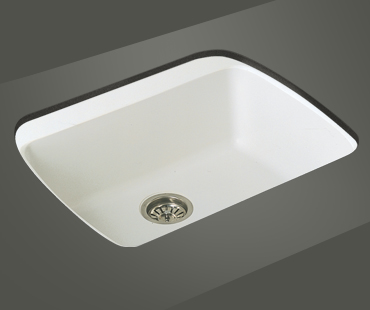 Mitrani Kitchen Sinks - Titan Quartz - EA 640T Topmount/Undermount - 2 colors