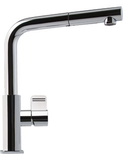 Franke Kitchen Faucet - Pull Out Faucet Stream Only - Satin Nickel - FFP1180