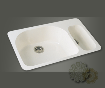 Mitrani Kitchen Sinks - Titan Quartz - GN 790T Topmount/Undermount - 2 colors