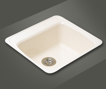 Mitrani Kitchen Sinks - Titan Quartz - HF 554T Topmount/Undermount - 2 colors