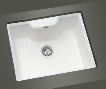 Mitrani Kitchen Sinks - Titan Quartz - KT 614T Topmount/Undermount - 2 colors