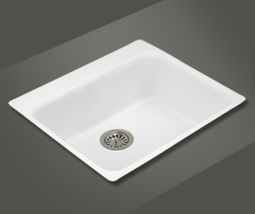 Mitrani Kitchen Sinks - Titan Quartz - LM 608T Topmount/Undermount - 2 colors
