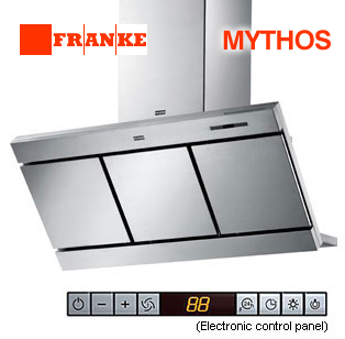 "Franke Range Hoods - Wall Mount - MYTHOS 36"" Premier Backdraft - FMY 367 XS"