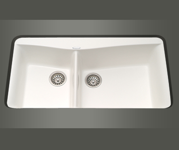 Mitrani Kitchen Sinks - Titan Quartz - VA 920 Undermount 1� Bowl Sink - 2 colors