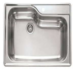 Franke Orca Sink : Franke Kitchen Sinks - Topmount Stainless Steel Single Bowl Sink ...