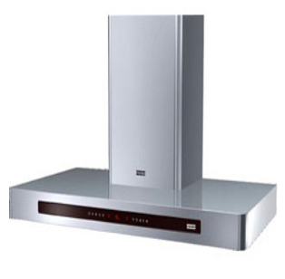 "Franke Range Hoods - Wall Mount - KUBUS 36"" Ultra Low Profile Chimney - FKU 368 TC W XS"