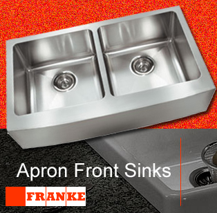 Franke Farmhouse Sinks - Apron Front Stainless Single Bowl Sink ...