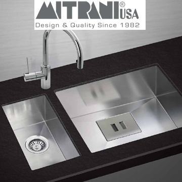 Mitrani Kitchen Sinks - Stainless Steel