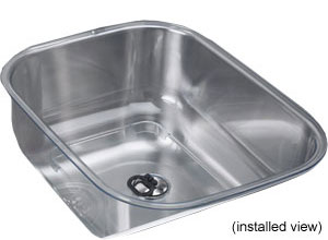 Franke Kitchen Sinks - Sink Accessories - Utility Bowl Oceania - OA-80CL